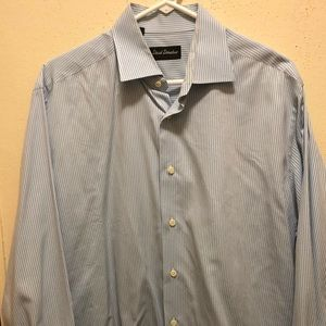 David Donahue Dress Shirt 16 1/2 32/33